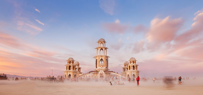 Life & Death - The Temple - Burning Man